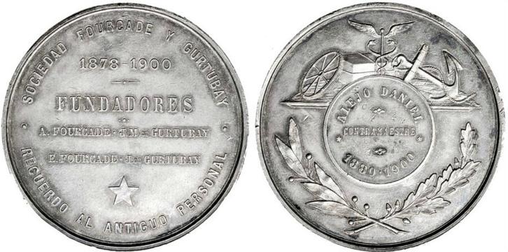 Fourcade y Gurtubay moneta