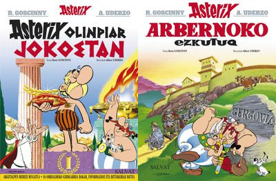 Asterixen beste bi album atera dira 2016an
