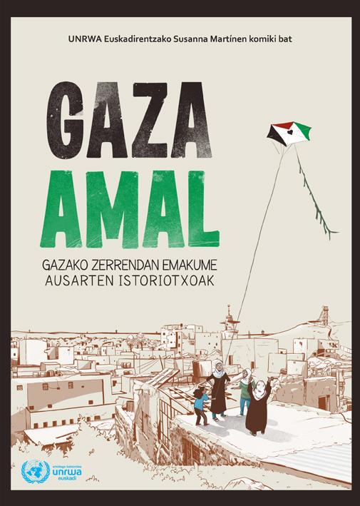 """""""Gaza Amal"""", Gazako zerrendako lau emakumeren istorioak komikian"""