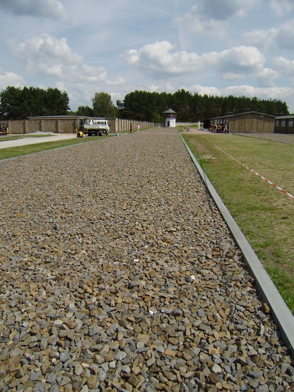 Sachsenhausen kontzentrazio esparruko bista bat