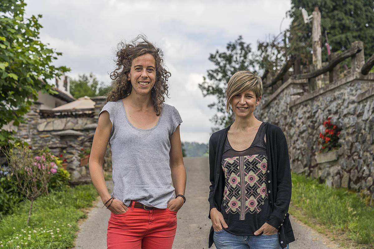 Irati Goikoetxea eta Maria Jauregi