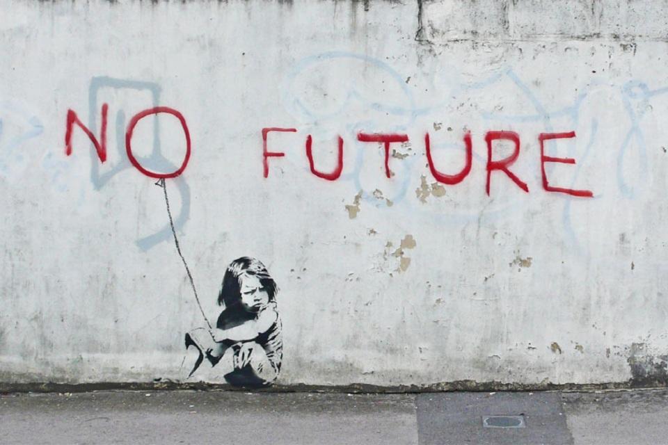 No future Bansky