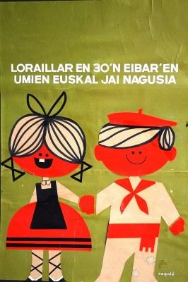 Eibarko Euskal Jaixa (1965) - kartela