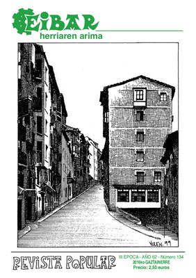 Margari Olañetak agur esan detsa Eibar rebistiari