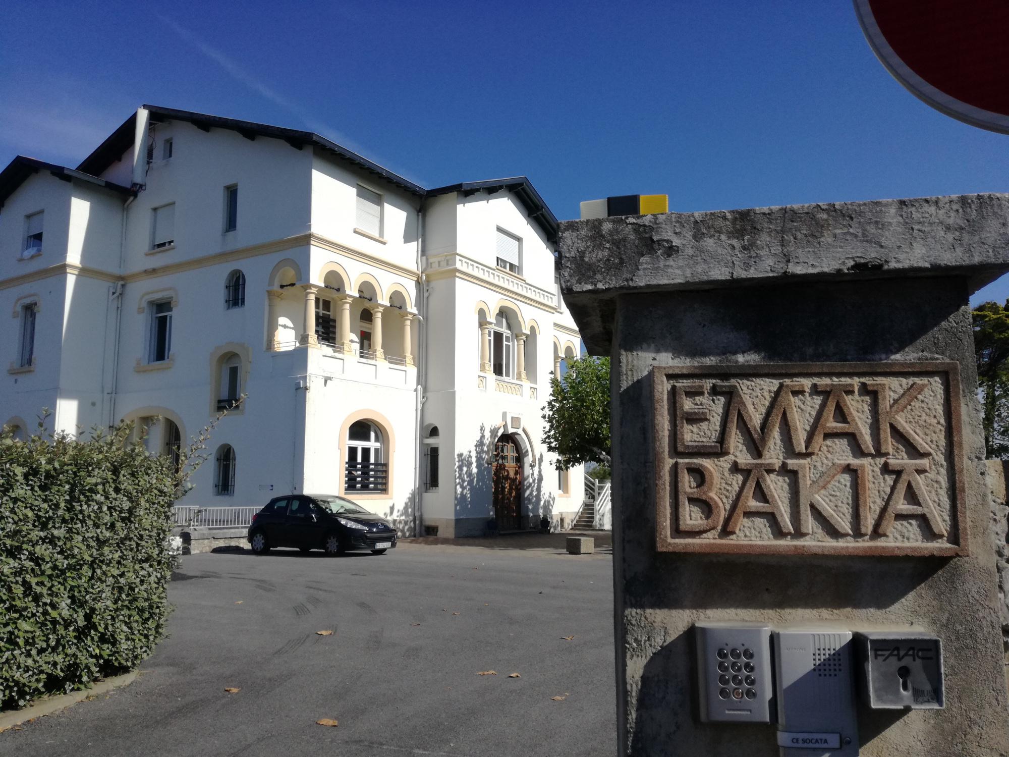 Emak Bakia etxea, la maison